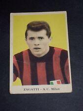 ***FIGURINA ALBA-TORTONA CALCIO 1959*** ZAGATTI (MILAN) N. 88