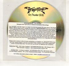 (HN692) DragonForce, Cry Thunder - 2012 DJ CD
