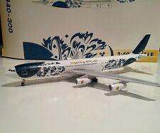Gemini Jets GJGFA399 Gulf Air 50th 1/400 scale Airbus A340-300 A4O-LD model plne