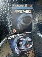 Playstation 2 Area 51 Steelbook Complete And Clean Disc