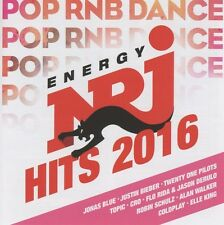 Energy-HIT Music Only! - Best of2016 2 CD NUOVO Flo Rider/Alan Walker/elettriche/Madcon/