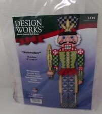 "Nutcracker Plastic Canvas Kit 8"" x 22 1/2"" Design Works"
