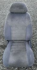 90 93 Toyota Celica St184 Driver Left Front Gray Cloth Bucket Seat W Tracks