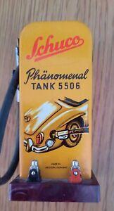 Schuco Phänomenal Tank 5506 Shell ICA Tanksäule / Zapfsäule Blechspielzeug
