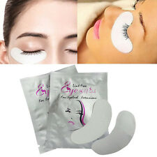 10pcs Curved Eyelash Pad Gel Patch Eye Pads Lint Lashes Extension Mask Eyepads