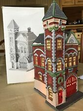 Department 56 1988 Hvc Christmas in the City Red Brick Fire Station