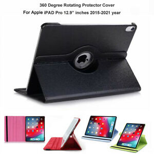 """PU Leather Stand Case Cover for 12.9"""" inch iPad Pro 2015/2017/2018/2020/2021 M1"""