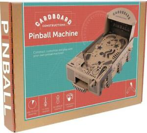 Fizz Creations Make Build Your Own Pinball Machine Cardboard Construction Kit