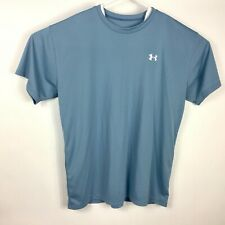 Under Armour Mens Blue Xl Short Sleeve Top Loose Fit