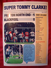 Preston North End 1 Blackpool 0 - 2013 Capital One Cup - souvenir print