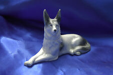 Antique porcelain Germany dog German Shepherd MALINOIS Belgian Shepherd
