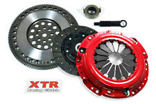 XTR STAGE 2 CLUTCH KIT +CHROMOLY FLYWHEEL HONDA ACCORD PRELUDE F22 H22 H23 MOTOR
