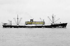 mc2300 - Swedish Cargo Ship - Bromalm , built 1946 - photo 6x4