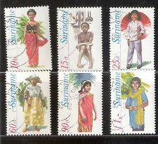 Suriname Zbl Nr  192/197   Gebruikt