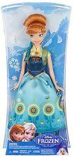 Disney Frozen Fever Princess Anna of Classic Doll Birthday Christmas Gift