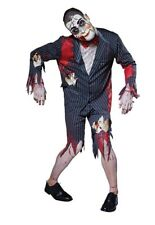 Mens Putrid Puppet Toy Gory Halloween Suit Horror Saw Fancy Dress Party Costume
