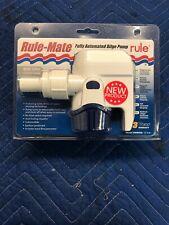 Rule Mate 800 Automatic Bilge Pump 12v #RM800B