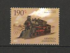 ARMENIA 2021 MEANS OF TRANSPORT LOCOMOTIVE TRAIN COMP. SET OF  STAMP IN MINT MNH