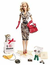 Barbie Silkstone 2016 NRFB Charlotte Olympia Gold Label Doll Vintage Face MINT