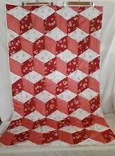 Tumbling Block Quilt Single Bed Quilt