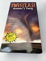 TWISTERS NATURES FURY CHANNEL 1000 - VHS Tape VCR Tape - Rewound