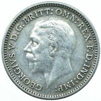 SILVER THREEPENCE GEORGE V. /CHOOSE YOUR DATE!     ONE COIN/BUY!