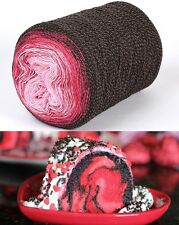 COLOUR TRANSITION YARN ROLL,SUPER NEW CONCEPT in KNITTING YARN 280g - 900m  ROLL