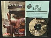 Age of Rifles 1846-1905 Strategic Solutions Inc. 1997 Game - Mint Disc 1 Owner !