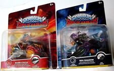 2 SKYLANDER SUPERCHARGERS>SEA SHADOW & BURN-CYCLE>NEW IN PKG>FREE U.S. SHIPPING