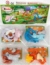 Satz Kinder Nature Lustige Hasen 2010 mit allen BPZ UeEi UN024 25 26 27 Tiere