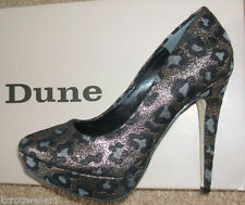 Dune Animal Print Court Heels for Women