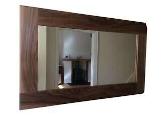 *Beautiful Quality Handmade Solid Walnut Wooden Mirror*