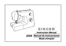 Singer 2259 Sewing Machine/Embroidery/Serger Owners Manual