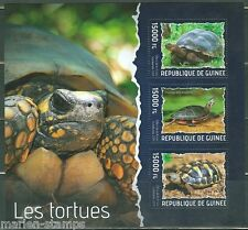GUINEA  2014 TURTLES  SHEET MINT NH