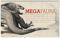 2008 AUSTRALIA STAMP PACK 'MEGAFAUNA' PAIR, STRIP + MINI SHEET OF MNH STAMPS
