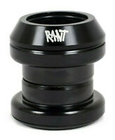 """RANT 1 1/8"""" THREADLESS HEADSET BMX BIKE BICYCLE INCLUDES CUPS BLACK NEW"""