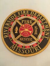 Riverside Mo. Fire Department & Rescue Patch