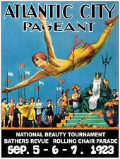 "20x30""Decoration CANVAS.Interior room design art.Athantic city 1923 pageant.6463"