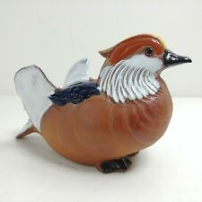 Mandarin Duck Clay Planter by Neiman Marcus Made In Japan