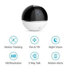 EZVIZ Mini 360 Plus 1080p Pan/Tilt Smart Home Wi-Fi Security Camera Motion Track