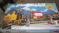 Playmobil LGB 4024 - Diesellok Vulcano Tankwagen Set - RAR-  OVP + Trafo +Gleise