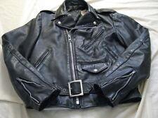 Schott Perfecto Leather Motorcycle Jacket 80s Biker Brando US Made S 36