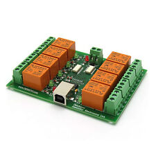 USB Relay Timer Module Board with FT245 - Eight Channels - 24V