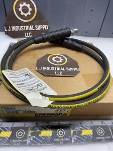 NEW* ENERPAC H9206 Hydraulic 6' Hose_3/8x3/8-NPT_**READ DETAILS**FAST SHIPPING!
