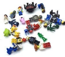 LEGO LOT OF JACK STONE MINIFIGURES KEYCHAINS ANGRY BIRDS & MORE