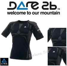 Dare 2b Womens Body Base Short Sleeve T - Black SIZE - M/L Cycling Running Ski