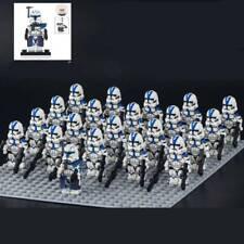 21Pcs Star Wars Custom 501st Legion Clone Trooper Rex Minifigure Block