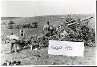 WW 2 Russland Feldzug Feldhaubitze 20.08.42 Poltschinok 11. Pz.Div. Artillerie