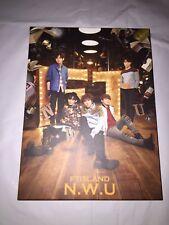 FTISLAND JAPAN ALBUM N.W.U SPECIAL BOX CD+DVD+ PHOTOBOOK+LEE JAEJIN PHOTOCARD