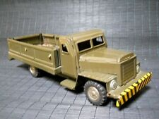 VINTAGE U S ARMY TRUCK TIN TOY TRUCK FRICTION DRIVE, MADE IN JAPAN FREE SHIPPING